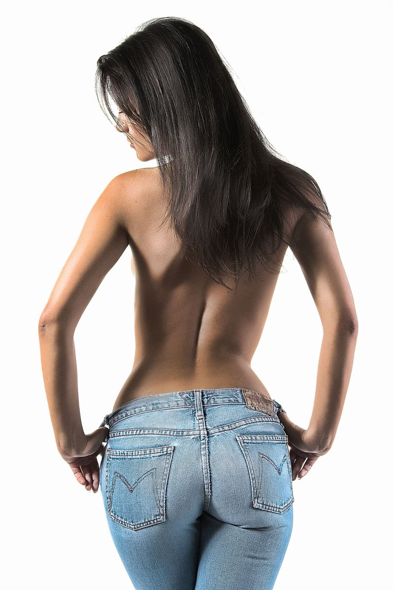 Sexy Jeans Low Waist Stretchy Good Elastic Hip Push Up Butt Lift Pants Jyards
